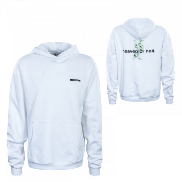Herren Hoody - Heaven or Hell - White