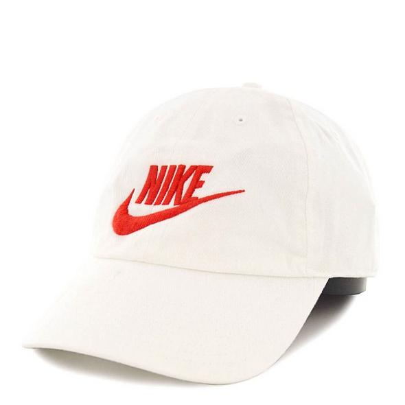 Nike Cap NSW Wash H86 White Red