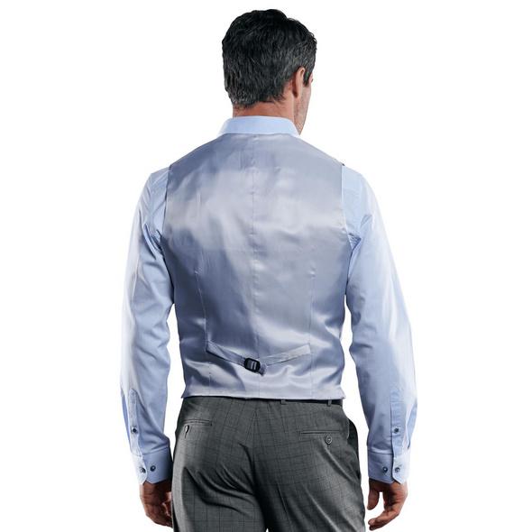 Stilvolle karierte Anzugweste