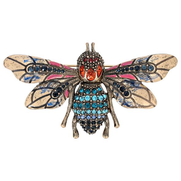 Brosche - Majestic Insect
