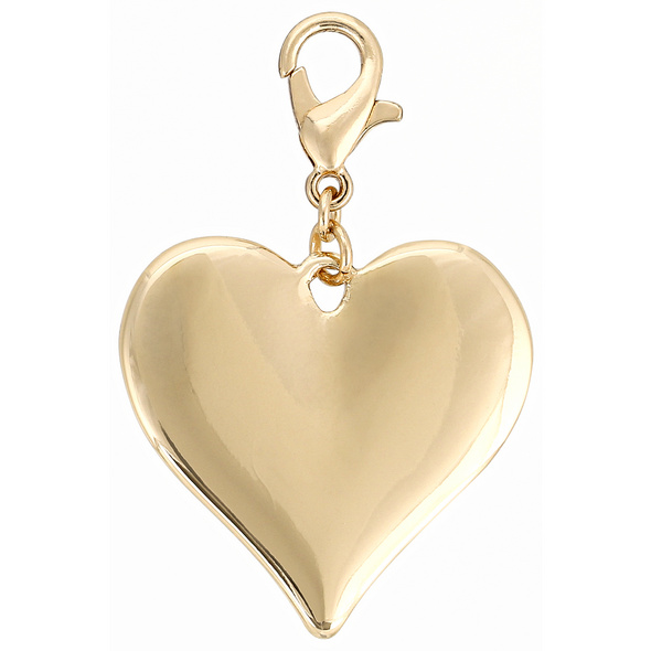 Charm Anhänger - Gold Heart