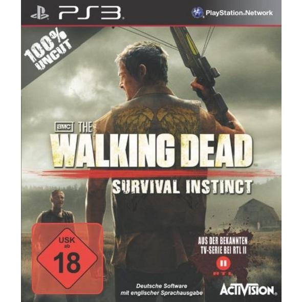 Activision The Walking Dead: Survival Instincts (100% UNCUT)