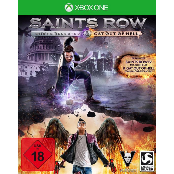 Deep Silver Saints Row 4 incl. Gat out of Hell (Add-on) First Edition