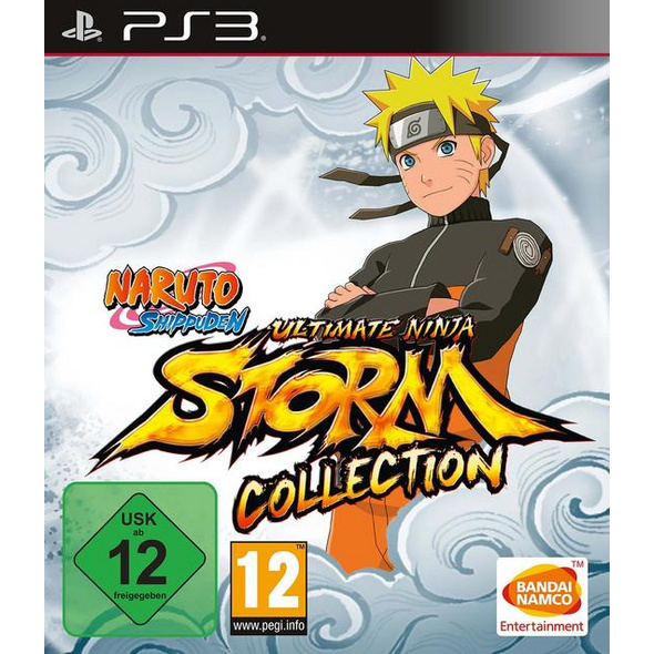Naruto Shippuden Ultimate Ninja Storm Collection (1+2+3 Full Burst)