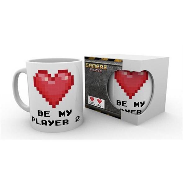 Gamers in Love - Pixel Tasse Be My Player 2
