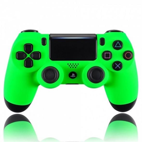 PS4 Dualshock Rebuilt Controller Acid Green (Softtouch)