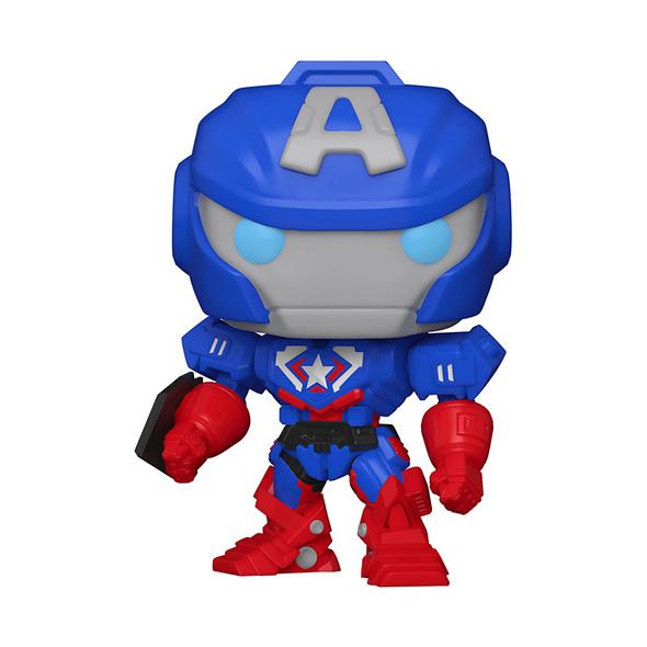 Marvel Avengers - POP!-Vinyl Figur Captain America (Mech Series)