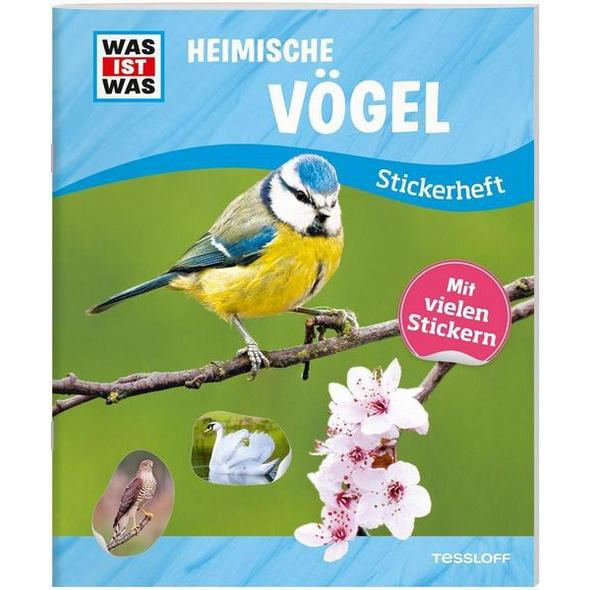 WAS IST WAS Stickerheft Heimische Vögel