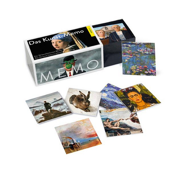 Das Kunst-Memo ¦ The Art Matching Game