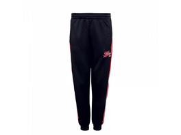Herren Trainingshose - Fubu VarsityTrack Pant - Black / Red