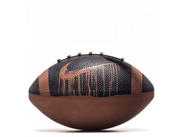 Rugbyball Mini Spin 4.0 FB Black Terra Brown