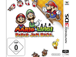 Nintendo Mario & Lugi Paper Jam Bros