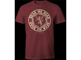 Game of Thrones - T-Shirt Lannister (Größe M)