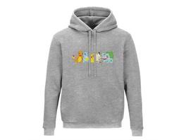 Pokémon - Hoodie Grau (Größe M)