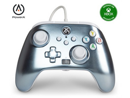 Xbox PowerA Controller Metallic Ice