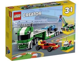 LEGO® Creator 31113 - Rennwagentransporter, Bausatz, 3in1,