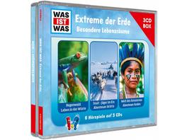 WAS IST WAS 3-CD Hörspielbox. Extreme der Erde. Besondere Lebensräume