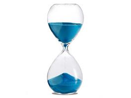 Sanduhr 'Time Out' 30 Minuten, türkis